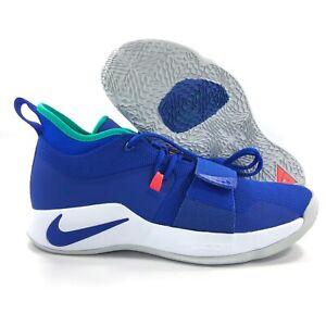 innovative design 62057 df1a0 Details about Nike PG 2.5 Racer Blue White Green Basketball Shoes  BQ8452-401 Men's 11.5