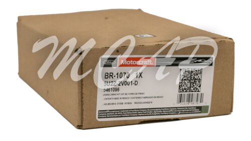 Motorcraft Front Brake Pads BR1070 2008 Mercury Sable  3.5L V6 ZD1070 NBR1070