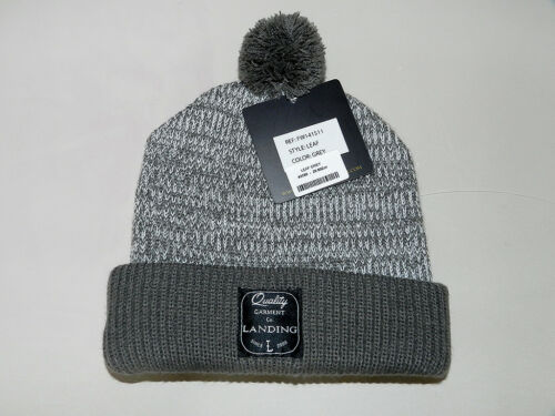 Landing Leaf Beanie Neuf The Gris Color Grey Bonnet I00Tx6Ew