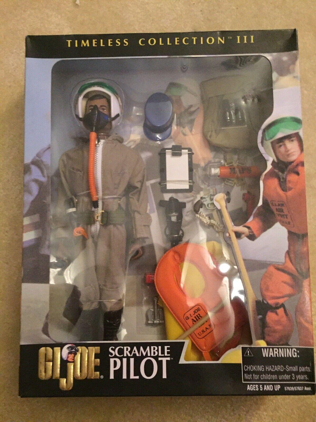 Gi Joe Timeless Collection Scrambled Pilot AA