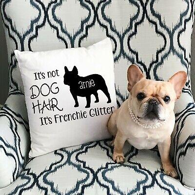 Personalized Throw Pillow Frenchie Dog French Bulldog Dog Mom Gift Dogs Ebay