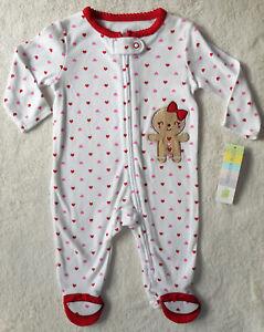 Baby Mädchen Strampler Overall Kuschelanzug