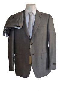CANALI-abito-sartoriale-uomo-principe-di-Galles-tg-48-grigio-medio-DROP-6-R