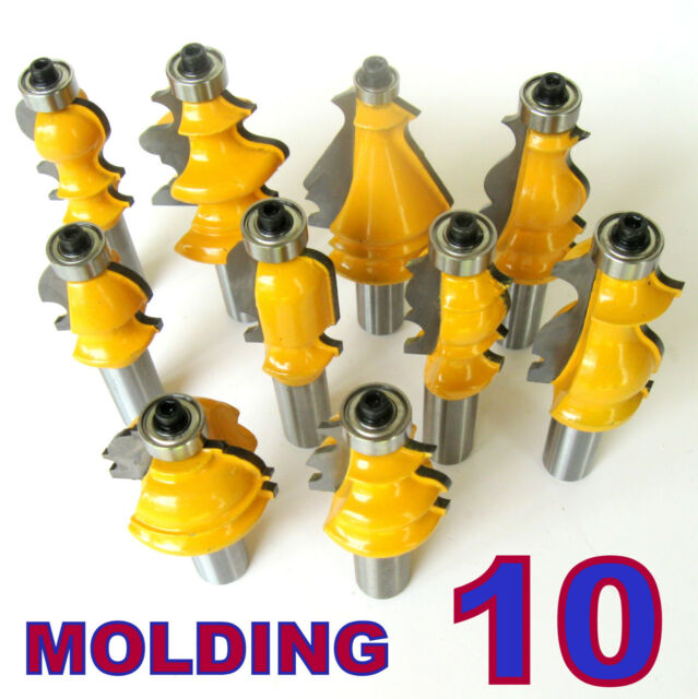 Assorted Set as pictured Router Bits