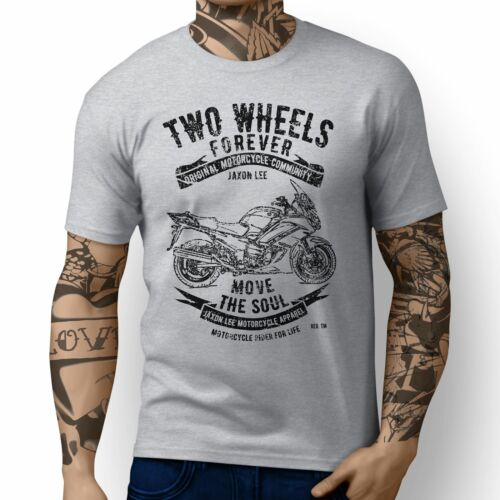 Jl Soul inspirado diseño de arte de la motocicleta Yamaha FJR1300 T-Shirts