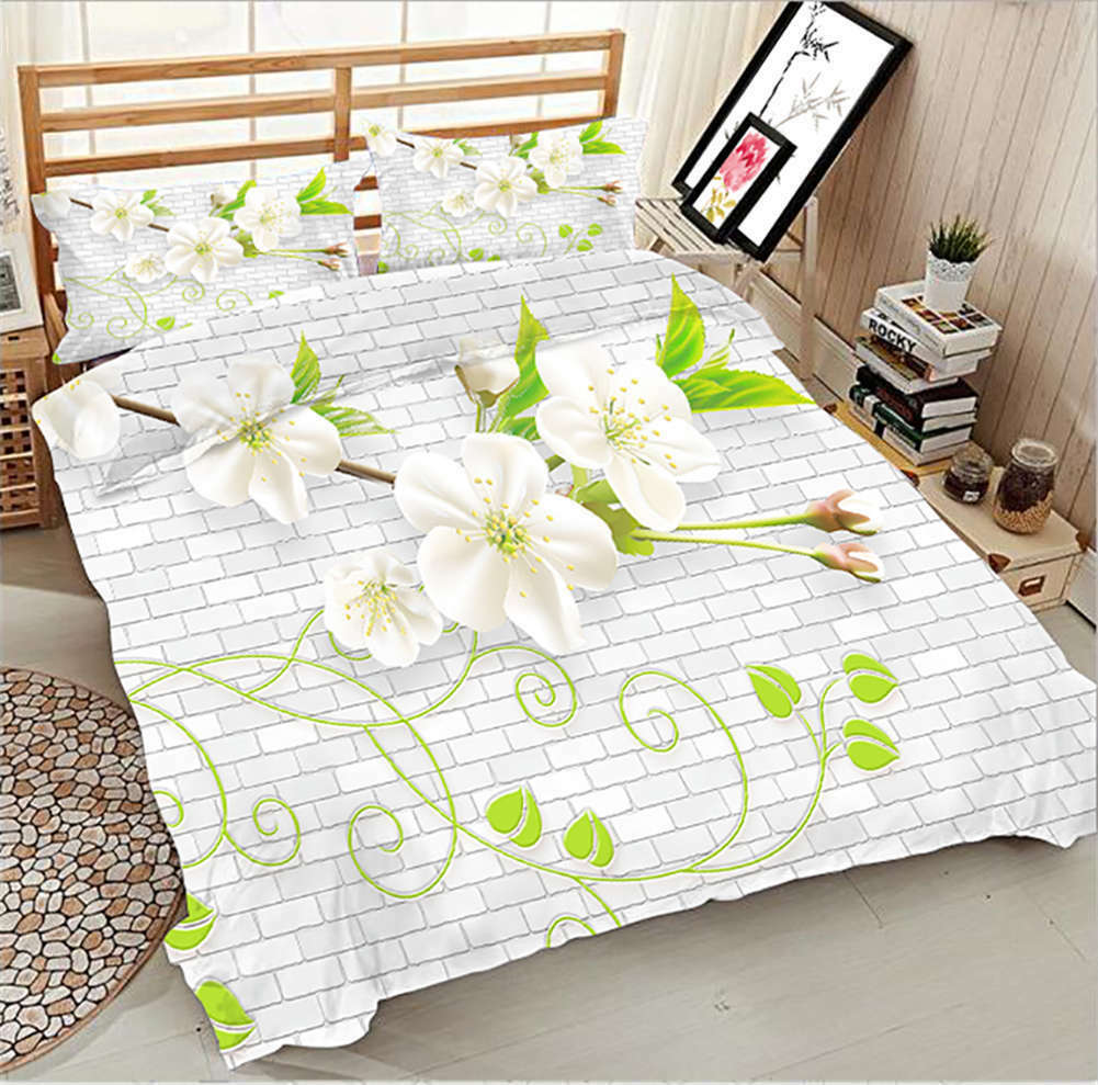 Refreshing Tree 3D Printing Duvet Quilt Doona Covers Pillow Case Bedding Sets