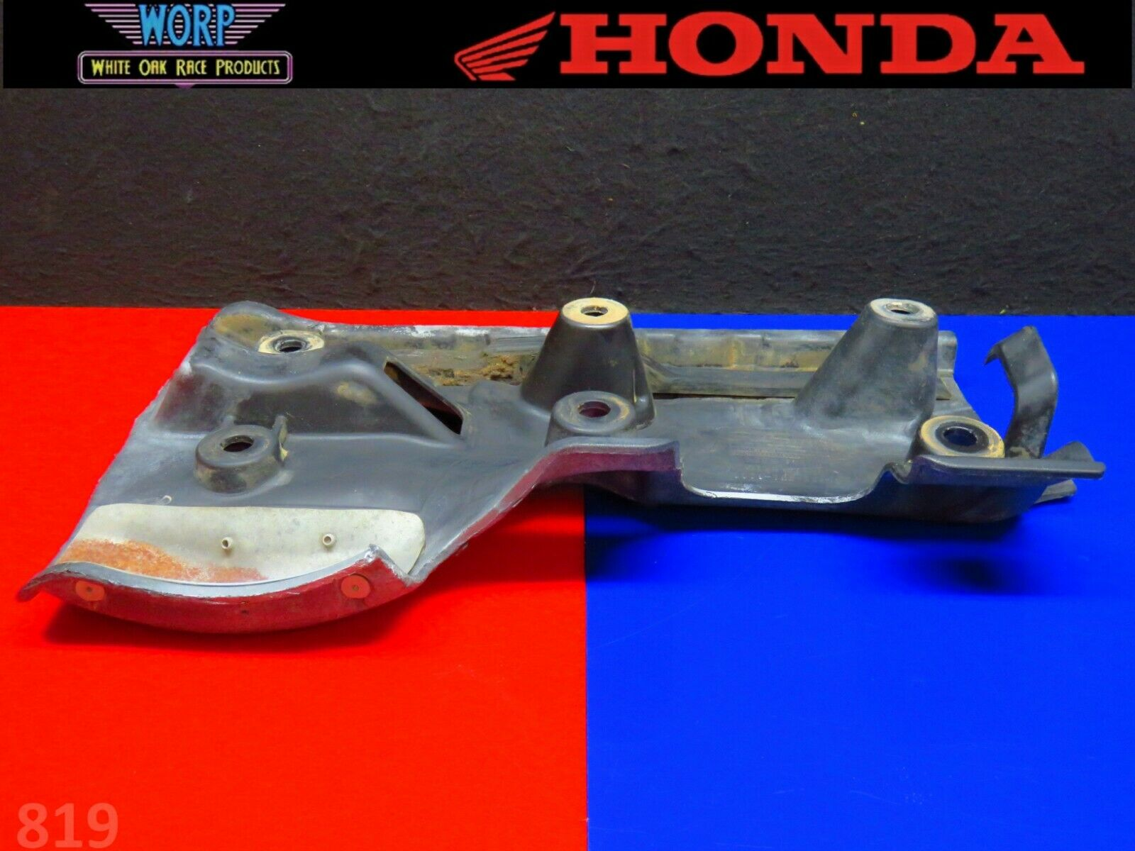 HONDA TRX 450R 450ER ORIGINAL SWINGARM REAR ARM SKID PLATE 04-14 50355-HP1-600