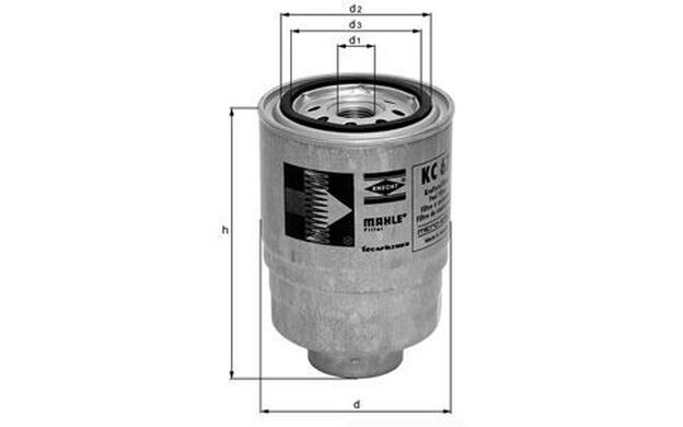 KNECHT Filtro combustible FORD MAVERICK NISSAN TERRANO ALMERA PRIMERA KC 67