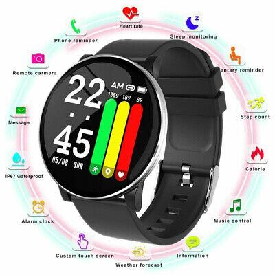 LEMFO W8 Smart Watch Men Women Heart Rate Blood Oxygen Pressure Fitness Bracelet
