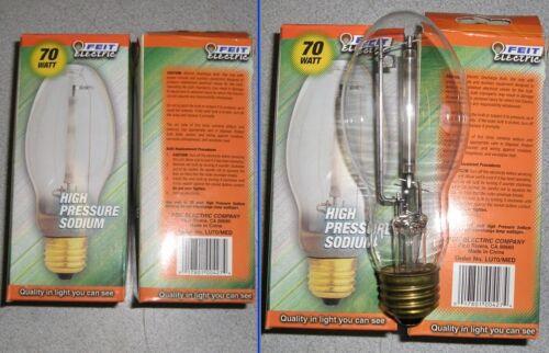 QTY2 New Feit Electric  LU70//MED 70W Medium Metal Halide Lamp Light Bulb