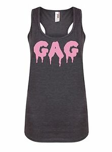 Gag-Women-039-s-Racerback-Vest-RuPaul-Drag-Queen-Shock-Attitude-Sass-Gym-Tank-Top