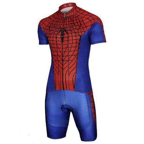 NUOVO Supereroe [Super Eroe/EROI] ciclismo a maniche & corte jersey & maniche Pantaloncini Set 61b5c8