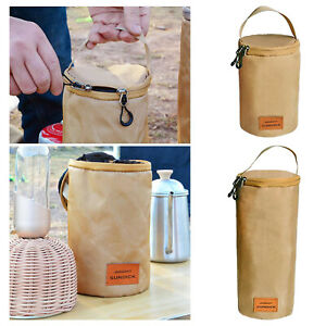 Portable Cooking Gas Cylinder Cover Hunting Lantern Storage Protective Pouch