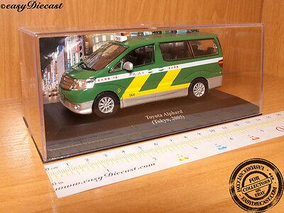 TOYOTA ALPHARD TAXI CAB 1:43 TOKYO (JAPAN) 2005 MINT!!!