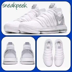 533770e67235 Nike KD 10 Still KD size 7.5uk 42eur 897815 100 mens trainers