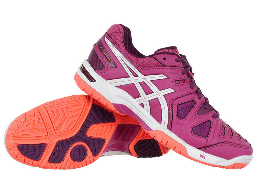 Professional Asics Gel-Game 5 Women's Tennis Shoes Sports Training Sneakers The most popular shoes for men and women
