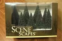 Bachmann Scene Scapes N Scale 3 - 4 Pine Trees (9) Trees/box