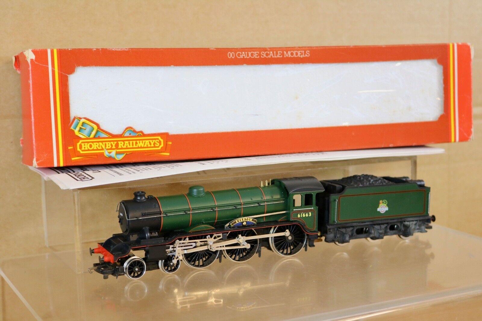 Entrega directa y rápida de fábrica HORNBY R060 BR verde 4-6-0 CLASS B17 LOCO 61663 61663 61663 EverdeON BOXED np  calidad garantizada