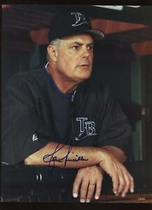 Lou Piniella Tampa Bay Manager Autographed Photo B & E Hologram