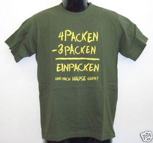Junior-T-shirt-4-Packen-gruen-140-152