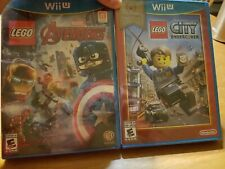Lego City Undercover Nintendo Wii U New Original First Print Free Shipping For Sale Online