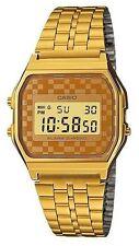 Vintage Casio A159WGEA-9 Retro Digital Gold Watch A159WGEA-9DF COD Paypal