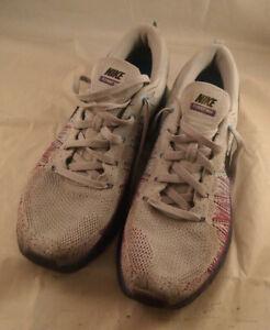 e6b59725f3 Nike Men's Size 12.5 620469-005 Flyknit Max Wolf Grey Court Purple ...