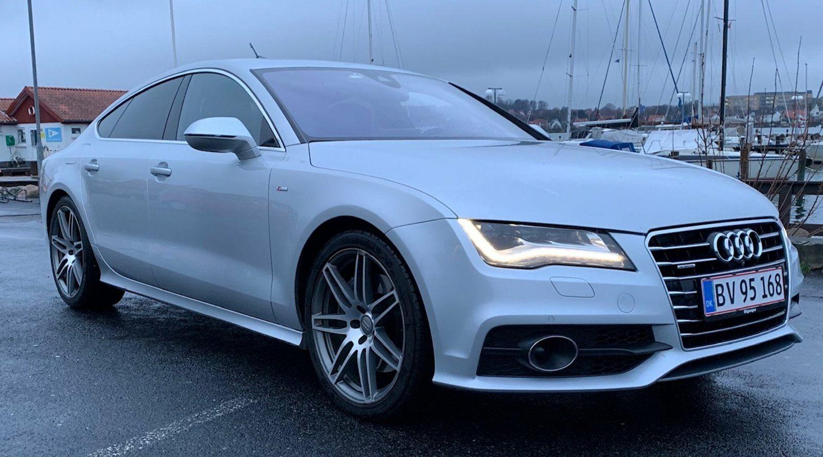Audi A7 3,0 TDi 313 SB quattro Tiptr. 5d - 159.800 kr.