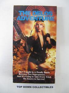 The-Delos-Adventure-Roger-Kerns-Deni-Trion-E-J-Castillo-VHS-Movie