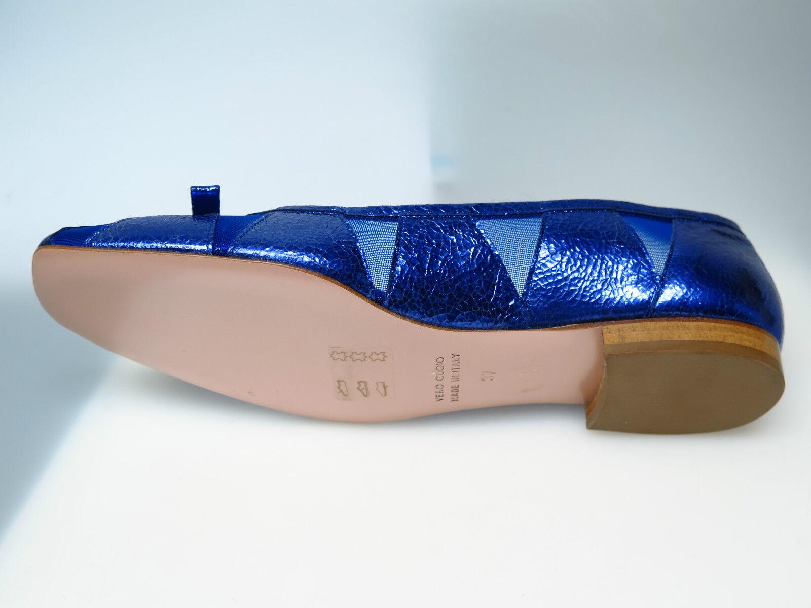 SULTANA Schuhe Designer Damenschuhe N4500 Tati Vegas Indaco Goldi Goldi Goldi Gr. 37 NEU c94ef6