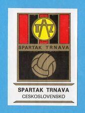 FOOTBALL CLUBS-PANINI 1975-Figurina n.58-SPARTAK TRNAVA  CECOSLOVAC-SCUDETTO-Rec