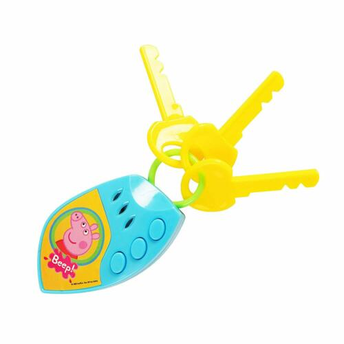 PEPPA PIG CAR KEYS Peppa/'s Electronic Sounds Toy Childrens Xmas Stocking Filler