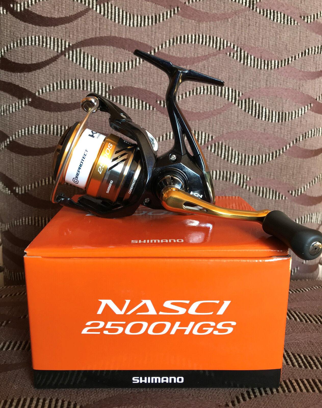 Shimano Nasci 2500HGS FB Spinnrolle