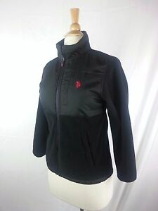 Womens Sherpa Lined Quilted Jacket Polo Assn U.S