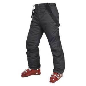 Pantalon de ski TRESPASS BEZZY taille L noir TP50 Coldheat snow surf homme hiver