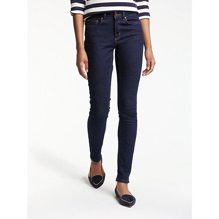NEW Boden Soho Skinny Jeans WC082 Indigo bluee Size 16 L