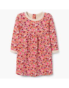 Image is loading NWT-Gymboree-Pink-Floral-Sweatshirt-Dress-Baby-Toddler- fa3ab9b87