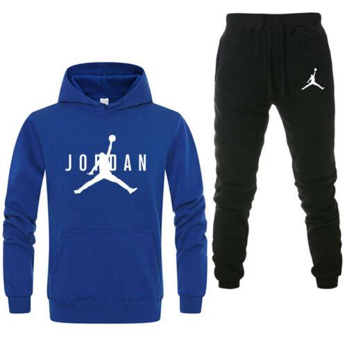 Legende 23 Herren Basketball Jersey Trainingsanzug Hoodie Hose Jogginganzug 2Pcs
