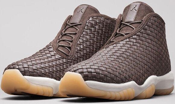 Nike Air Jordan Future Premium LUX SZ 10.5 Dark Chocolate Brown Gum 652141 219