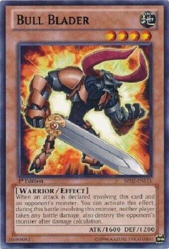 Bull Blader Rare 1st Edition  Yugioh Konami BP02-EN115