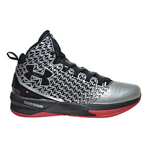 5ec04f5ef86e Under Armour Clutchfit Drive 3 Men s Shoes Metallic Silver Black Red ...