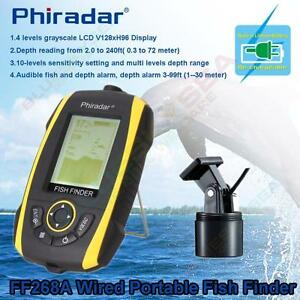 phiradar portable sonar sensor lcd smart fish finder transducer, Fish Finder