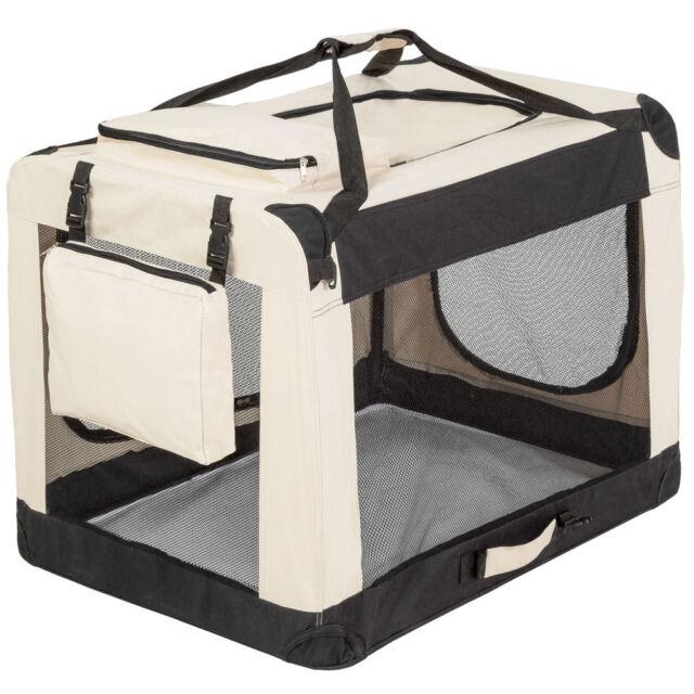 Cage sac box panier caisse de transport pour chien chat mobile pliable XL
