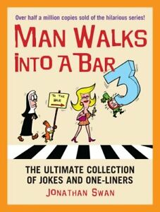 009193785X-Paperback-A-Man-Walks-Into-a-Bar-3-Jonathan-Swan-Very-Good