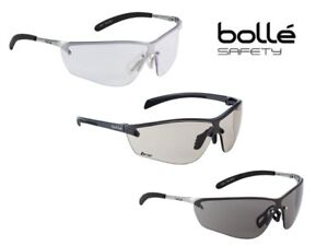 NEW BOLLE SILIUM  SAFETY GLASSES  IN SMOKE