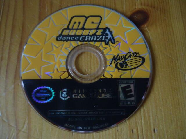 MC GROOVZ Dance CRAZE NTSC-U/C (US/Canada) for Gamecube/Wii DISC ONLY