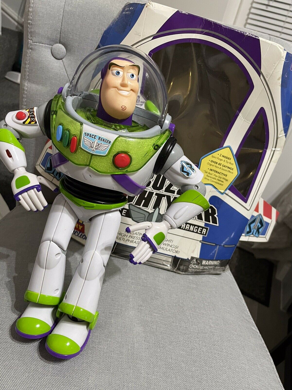 Disney Pixar Toy Story Buzz Lightyear Li…