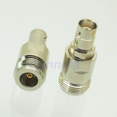 1pce N female jack to BNC female jack RF coaxial adapter connector
