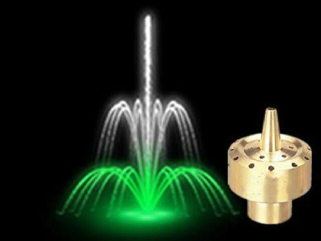 """1/2"""" 3/4"""" 1"""" 1 1/2"""" Brass Column Style fountain nozzle sprinkler head Spray Head"""