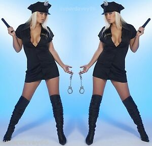 SEXY-POLICE-WOMAN-UNIFORM-OUTFIT-FANCY-DRESS-PARTY-COSTUME-10-12-14-16-18-S-M-L